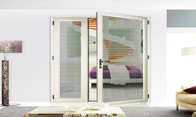 Steel mesh screen window